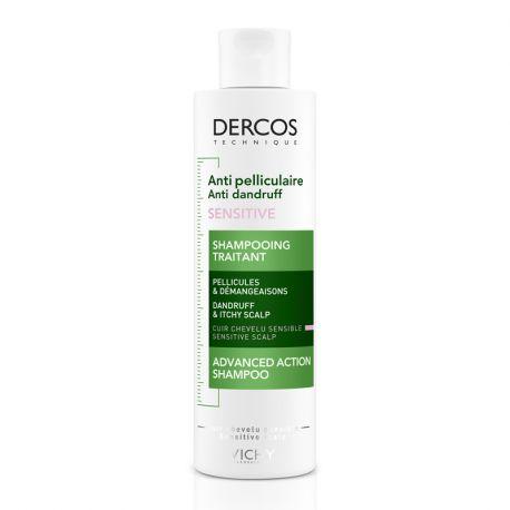 DERCOS Shampoing antipelliculaire sensitive 200ml
