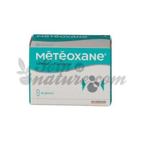 Météoxane боль живота раздувание с коробкой 60 капсул.