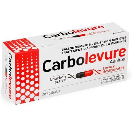 CARBOLEVURE ADULTE GELULES 30