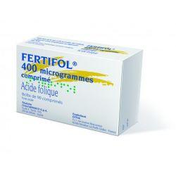يبيع Fertifol حمض الفوليك 400 ميكروغرام 90 حبة في الصيدلة