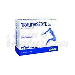 TRAUMASEDYL Homeopatia Veterinária Boiron 12 lâmpadas 5mL