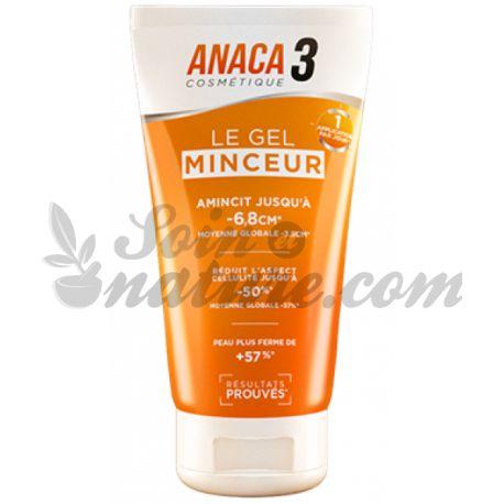 ANACA3 LE Gel Minceur 150ml Nutravalia