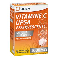 VITAMINE C 1 000MG UPSA COMPRIMES EFFERVESCENTS 20