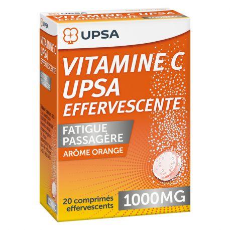 VITAMINE C 1 000MG UPSA COMPRIMES EFFERVESCENTS 20