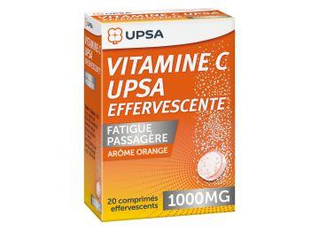 Vitamin C Upsa 1 000mg Effervescent Tablets 20