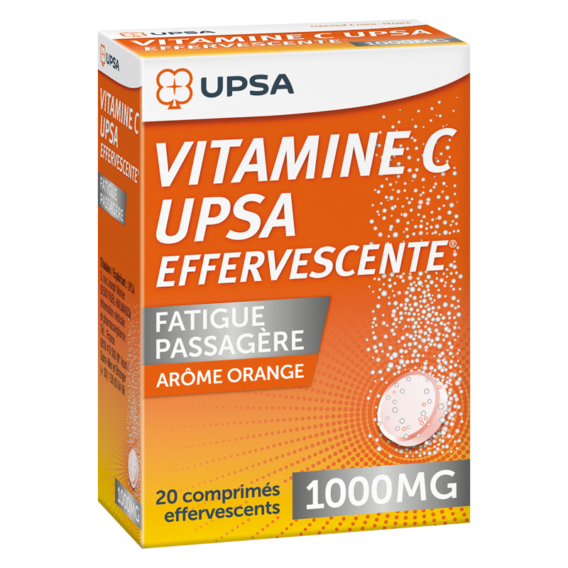 VITAMIN C UPSA 1 000mg Effervescent Tablets 20