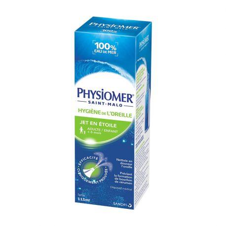PHYSIOMER HIGIENE EAR GARRAFA 115 ml