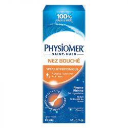 PHYSIOMER Spray nasal Hypertonique Eau de mer 135 ML
