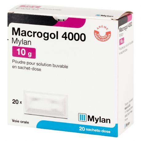 Macrogol 4000 10G MYLAN 20 BORSE
