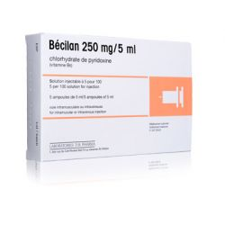 BECILAN 250MG/5ML 5 ampoules IM-IV