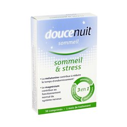 DouceNuit Sommeil & Stress 3 en 1 30 comprimés