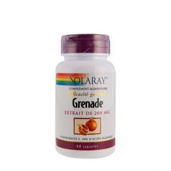 SOLARAY GRENADE 200 MG ELLAGIC ACID 60 CAPSULES