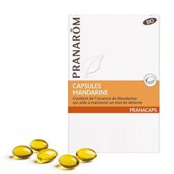 PRANAROM Mandarine bio 30 Capsules d'huile essentielle