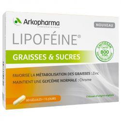 ARKOPHARMA Lipoféine SENSOR VETTEN CHITOSAN 60 capsules
