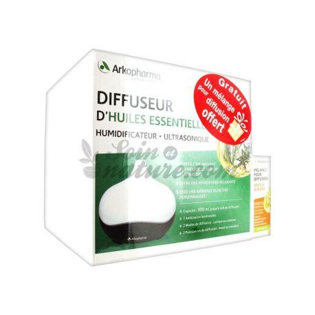 Humidificador ultrasónico difusor de aceites esenciales aromáticos ARKOPHARMA