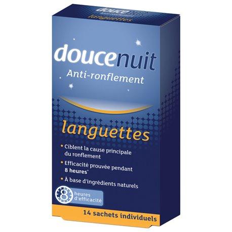 DouceNuit Anti-ronflement Languettes 14 / 28 Sachets