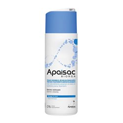APAISAC BIORGA Fluide sans rinçage dermo-nettoyant