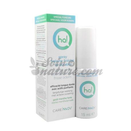 HA! Spray Haleine Fraîche Spécial Fumeurs Halitose 15ML