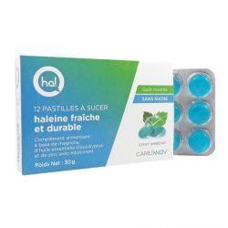 HA! Haleine Fraîche et Durable 12 pastilles menthe