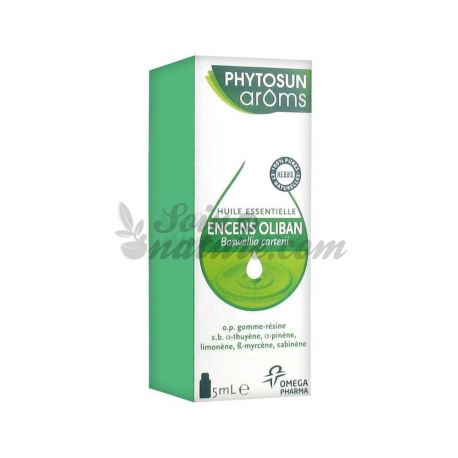 PHYTOSUN AROMS Incenso Olíbano Essential Oil 5 ml CARTERII BOSWELLIA