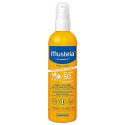 Mustela Baby Spf50 Protective Solar Spray +