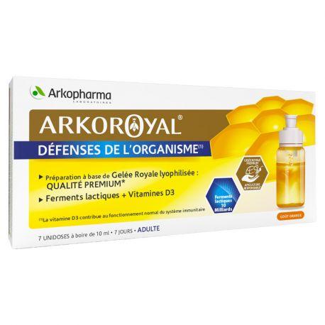 ARKOPHARMA Arko Royal + Ferments lactiques vit D3 Unidoses Adultes