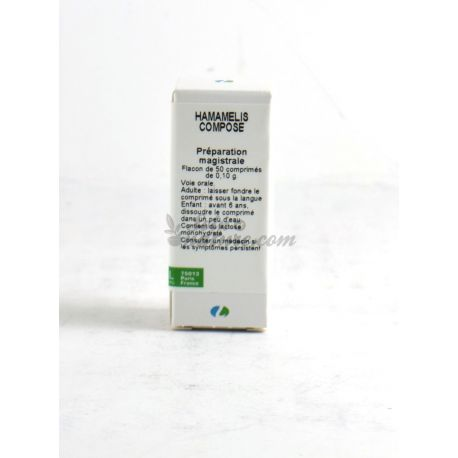 Rocal Lehning homeopathische tablet HAMAMELIS COMPOUND