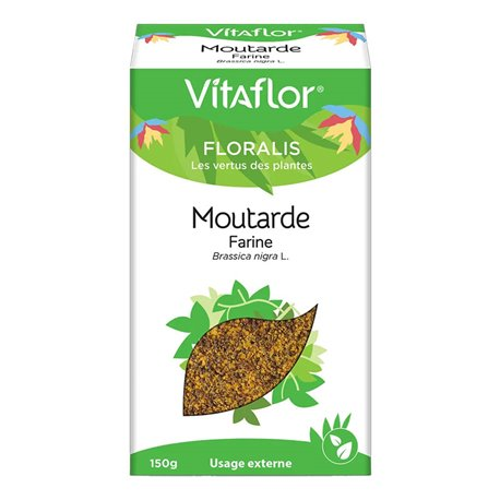 Farine de moutarde VITAFLOR 150g