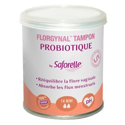 FLORGYNAL TAMPON PROBIOTIQUE COMPACT NORMAL BTE 9