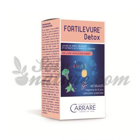 FORTILEVURE Detox Détoxification de l'organisme 60 gélule