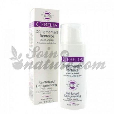 Cebelia fluide dépigmentant renforcé Visage et mains 30 ml