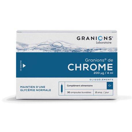 GRANIONS CHROME AMPOULES BUVABLES 2ML 30
