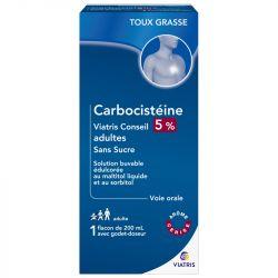 Mylan EXPECTORANT Carbocisteine ADULT SUGAR 200ml