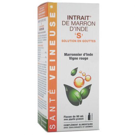 Intrait Marron D'Inde S Crise Hémorroïdaire Solution Buvable 90 ml