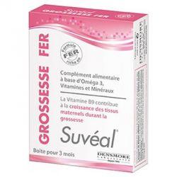 Suvéal Grossesse Fer 30 / 90 capsules Densmore