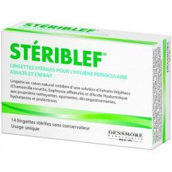 Steriblef Lingettes Nettoyage paupière et cils Densmore