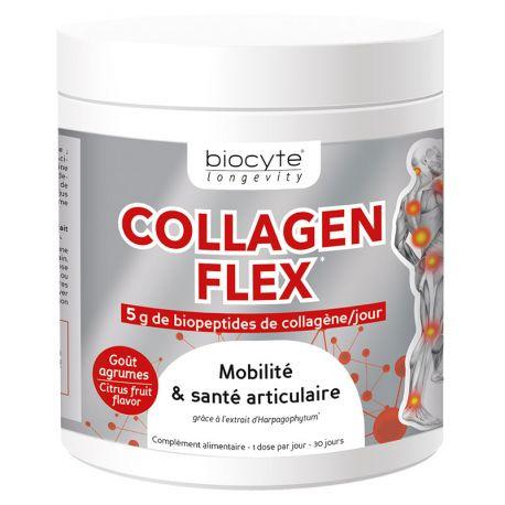Collagen FlexHERSTRUCTUREREN gewrichtskraakbeen 240g Biocyte