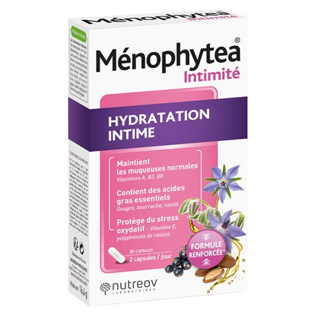 PHYTHEA Ménophytea HIDRATACIÓN INTIMOS 30 CAPS