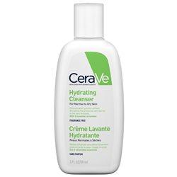 CeraVe Crème Lavante Hydratante visage & corps peau normale à sèche