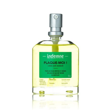 Indemne PLAQUE-MOI ! Lotion anti-irritante Spray 50ml