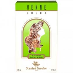 Coloration au Henné Blond Doré Scented Garden 100G