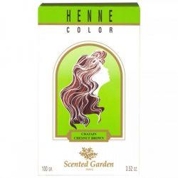 Scented Garden Coloration naturelle Henné Châtain 100G