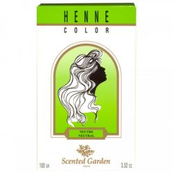 Scented Garden Henné Neutre Coloration Cheveux 100G
