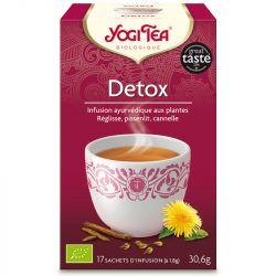 Yogi Tea Tisane detox Infusion Ayurvédique 17 infusettes