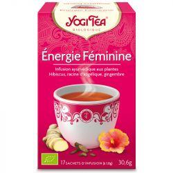 Yogi Tea Tisane énergie féminine Infusion Ayurvédique 17 Sachets