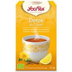 Yogi Tea Tisane detox citron Infusion Ayurvédique 17 Sachets