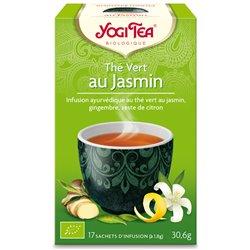 Yogi Tea Thé vert jasmin Infusion Ayurvédique 17 Sachets