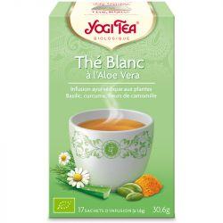 Yogi Tea Thé blanc aloe vera Infusion Ayurvédique 17 infusettes