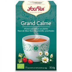 Yogi Tea Tisane grand calme Infusion Ayurvédique 17 infusettes