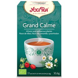Yogi Tea Tisane grand calme Infusion Ayurvédique 17 infusettes